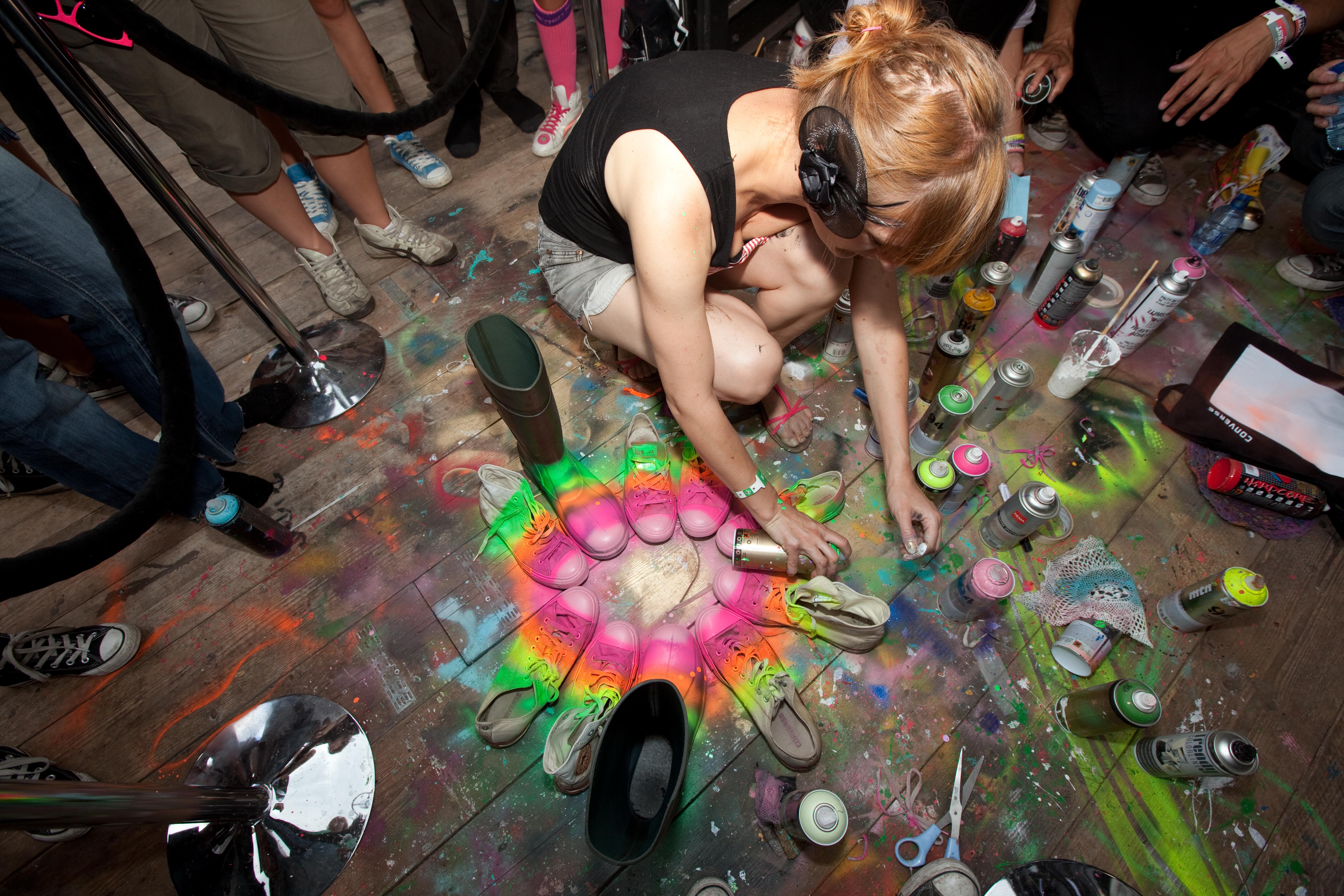 Graffiti Converse All Stars Converse Compound